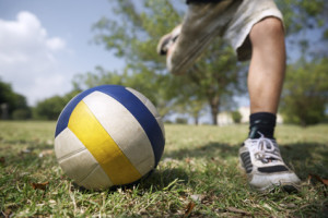 Practice the Game Footgolf Play Soccer Ball Football