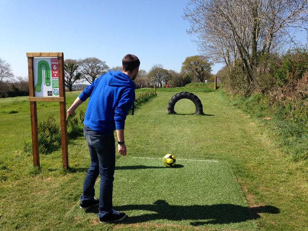 Cornwall Football Golf Footgolf Cornwall Footgolfer